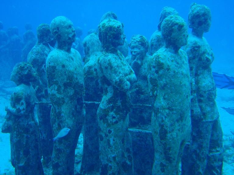 Underwater Art Museum Cancun