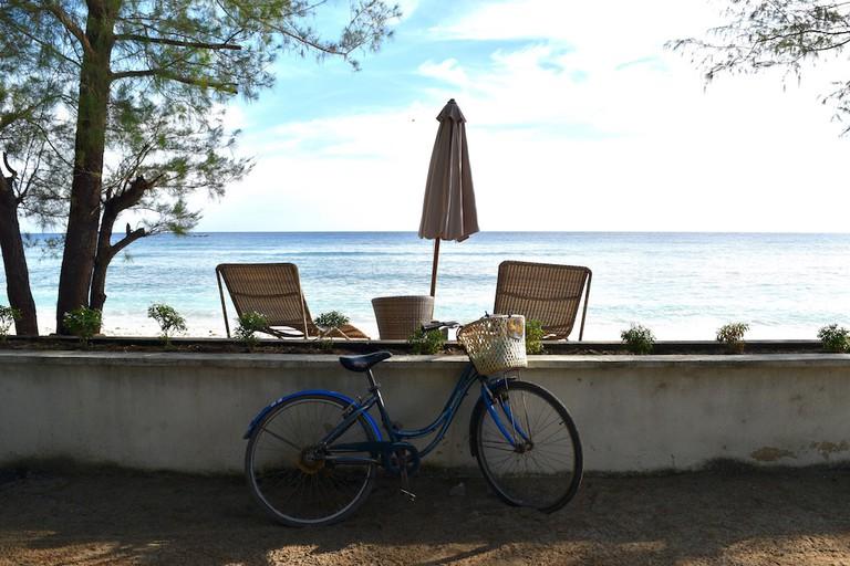 Bicycling around Gili T   © Nikki Vargas