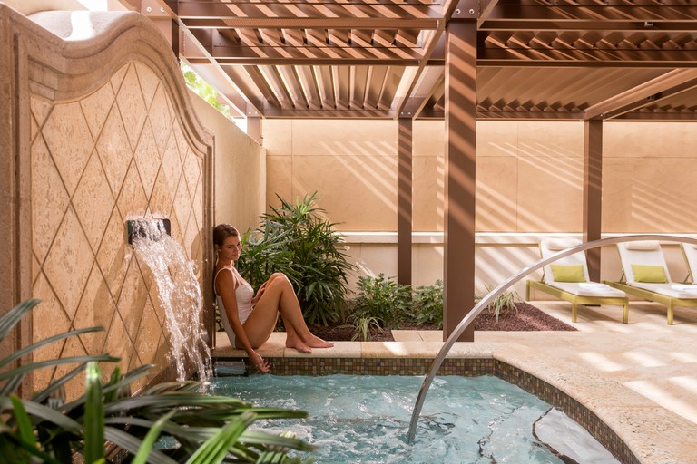 The Spa at the Four Seasons Outdoor Relaxation Area