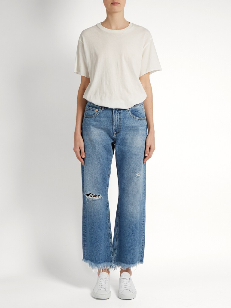http://www.matchesfashion.com/products/Raey-Max-asymmetric-hem-wide-leg-jeans--1172799