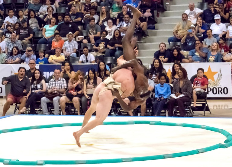 2017 U.S. Sumo Open | © Chuck Green/USA Sumo