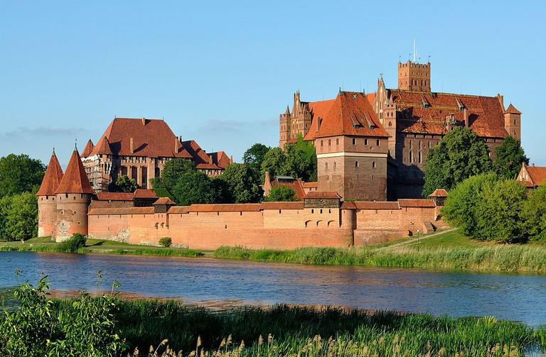 Panorama of Malbork Castle I