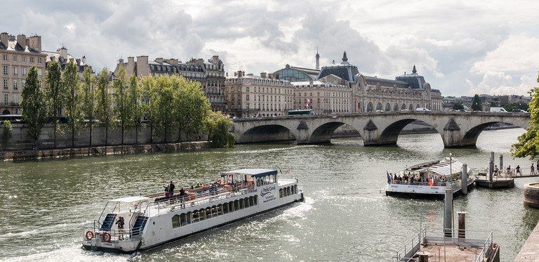 Paris Canal on the Seine │© Dietmar Rabich / Wikimedia Commons