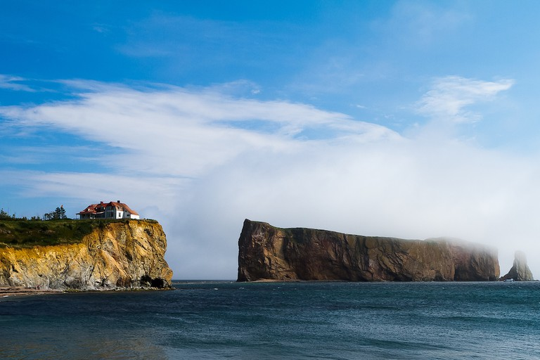 Percé Rock, Gaspé Peninsula, Quebec