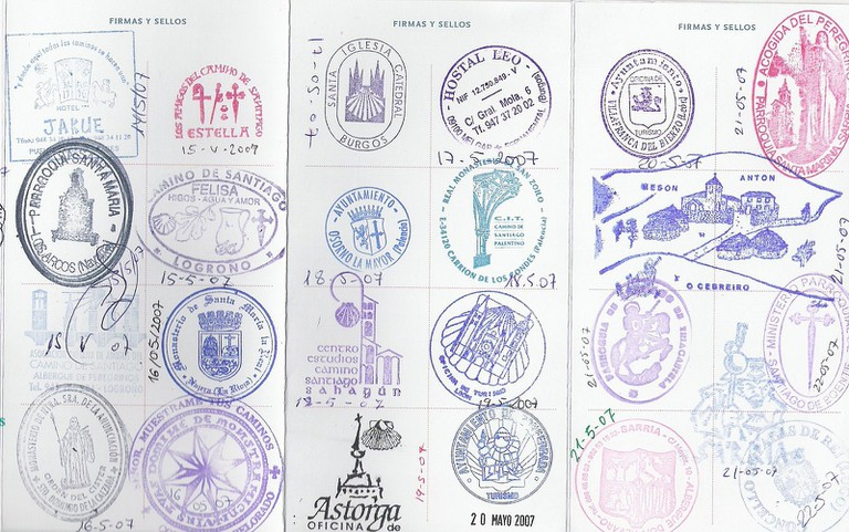 Pilgrim Passport, Camino de Santiago   ©Jane023 / Wikimedia Commons
