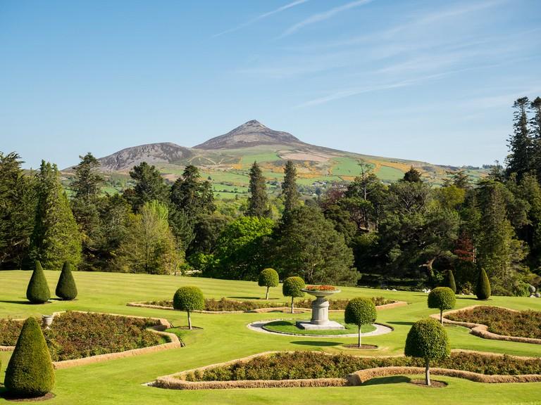 Powerscourt Gardens. County Wicklow, Ireland