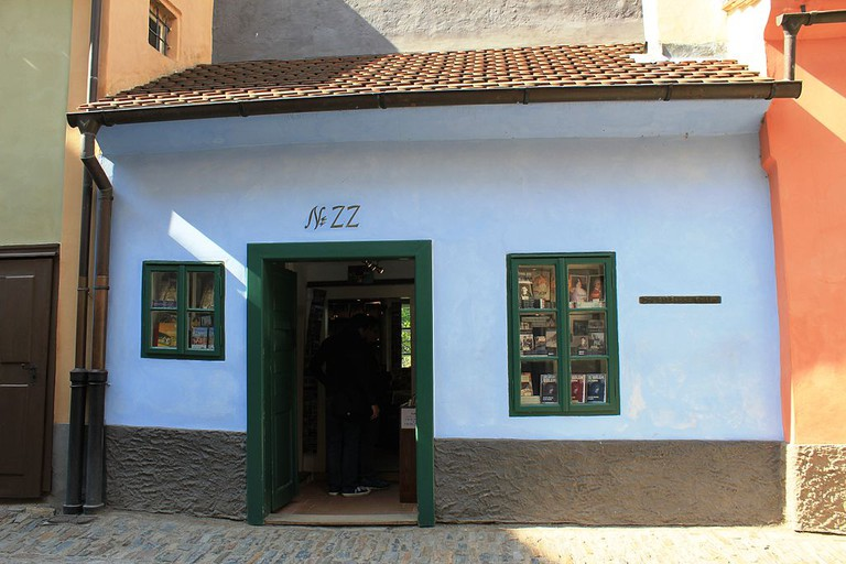 Kafka's former dwelling