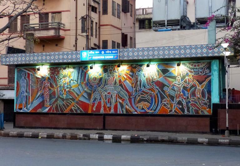 Rabindra Sadan Metro Station, Kolkata