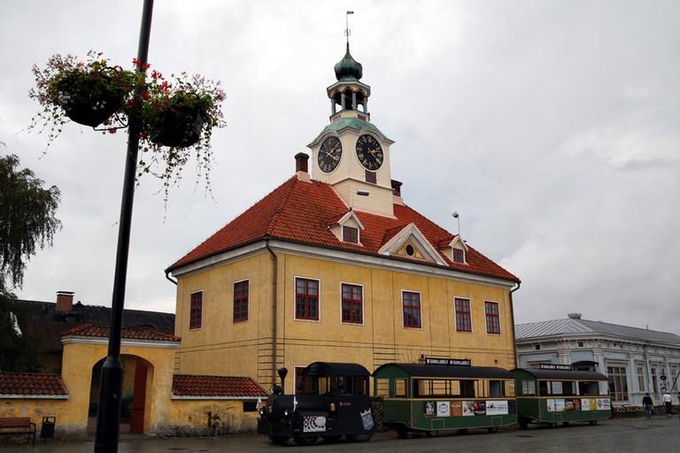 Rauma museum and land train