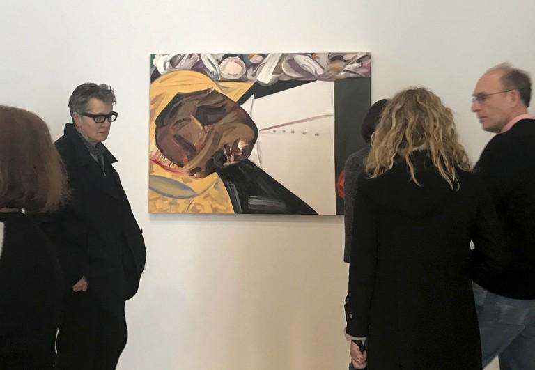 Whitney Biennial Protest, New York, USA—23 Mar 2017 |©AP/REX/Shutterstock