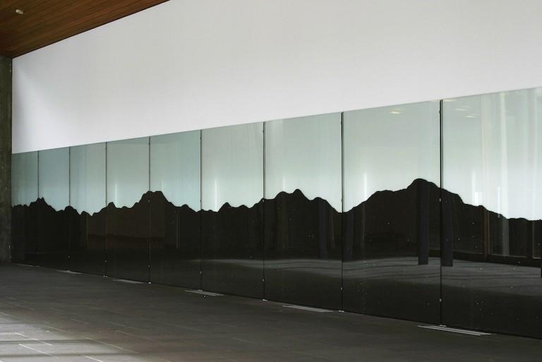 "Ragna Robertsdóttir, ""Hekla,"" 2004, Lava from Hekla, Installation view from Reykjavik Art Museum - Kjarvalsstaðir, 2004 | Courtesy of the artist and i8 Gallery, Reykjavik"