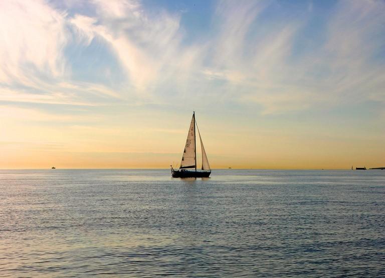 Sailing in Pirita