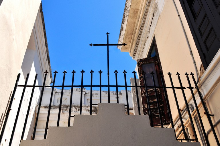 San Juan Cathedral Cross