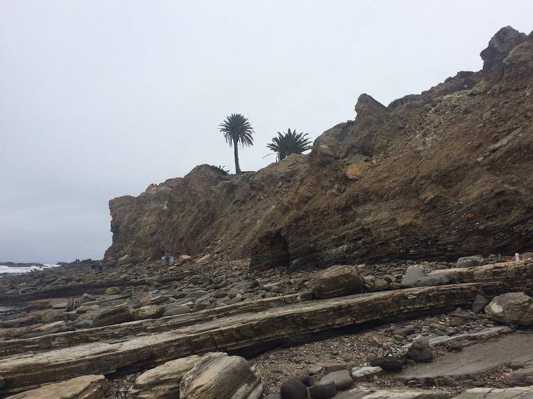 The coast of San Pedro