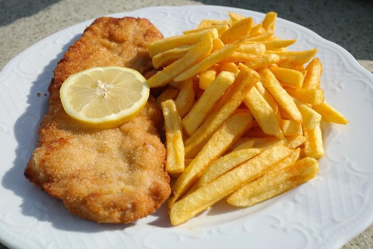 Schnitzel is a Central European classic