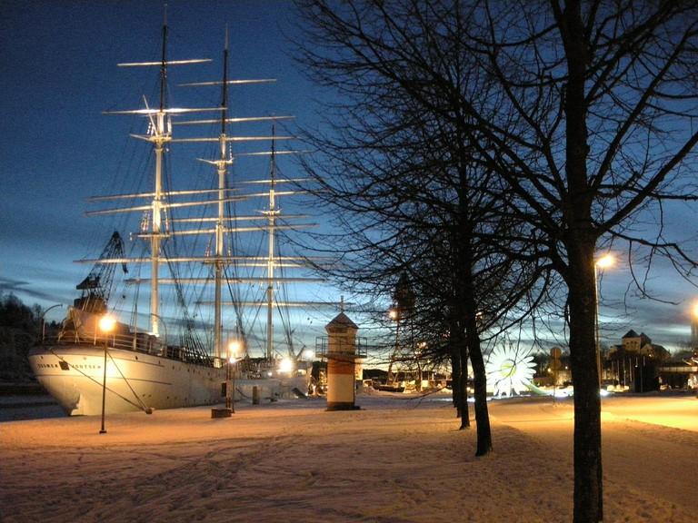 The Turku riverfront