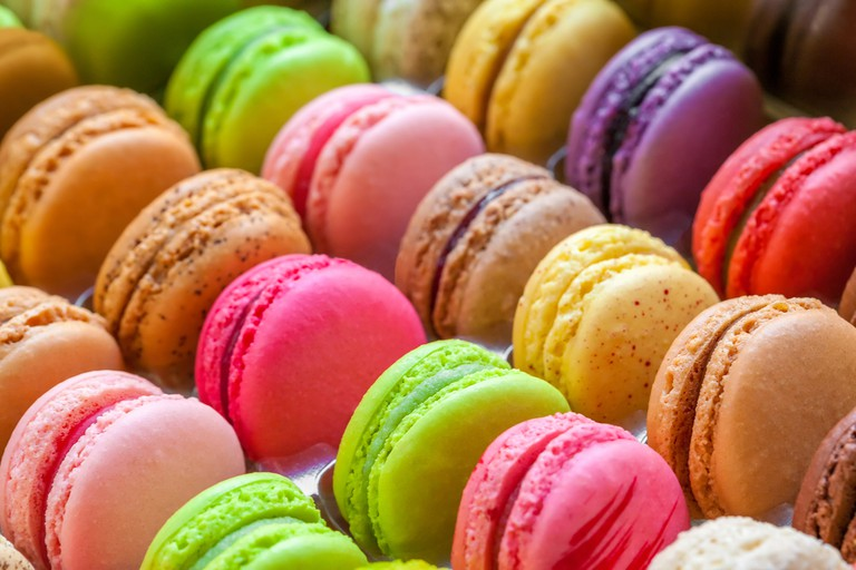 Macarons are taken very seriously on the French Riviera