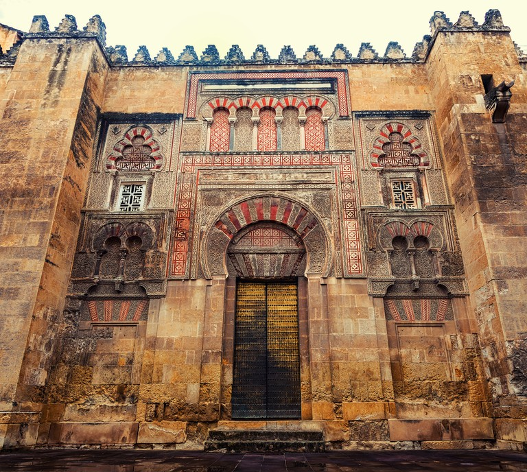 The entrance to Córdoba's grand mosque – once the greatest in the Moorish world