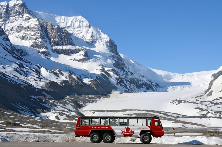 Adventures on Athabasca Glacier