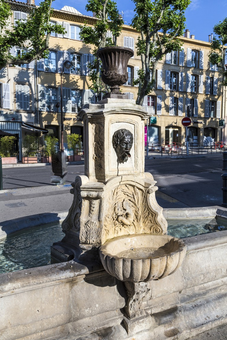 There is every conceivable kind of fountain in Aix en Provence