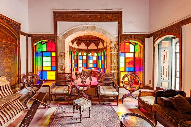 Beit Eddine, wood furniture