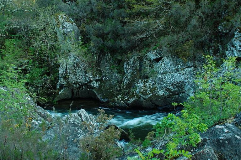 Arnego River, Galicia   ©Iago Casabiell González / Wikimedia Commons