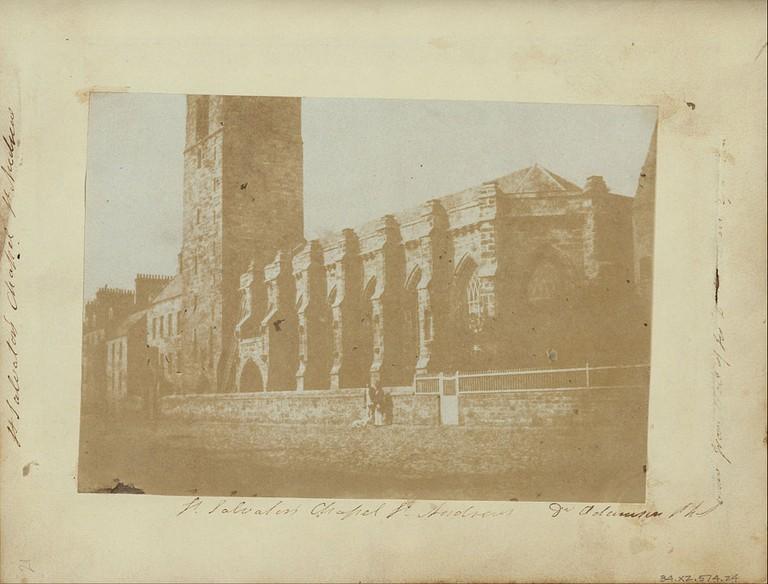 St Salvators Chapel c.1843 | © WikiCommons