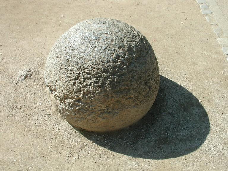 Stone sphere in Costa Rica