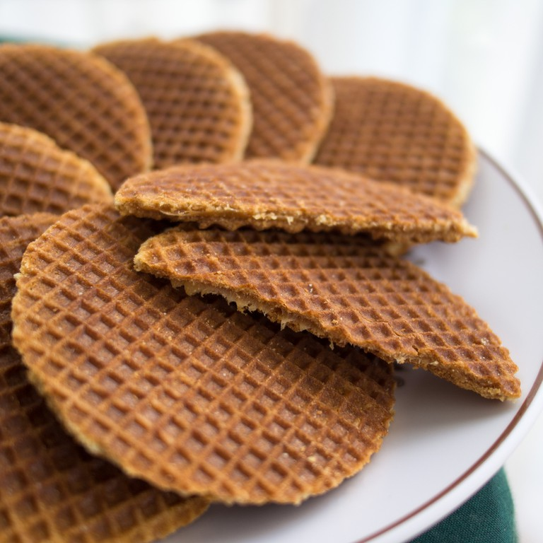 Try some fresh stroopwafels they are delicious