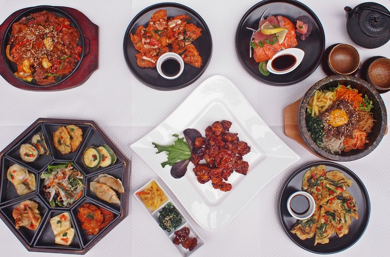 Superb array of dishes at Shin Jung │ Courtesy of Shin Jung