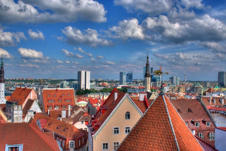 Tallinn's rooftops