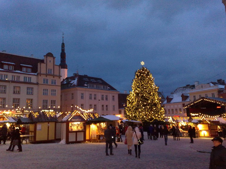 Christmas Tree in Tallinn