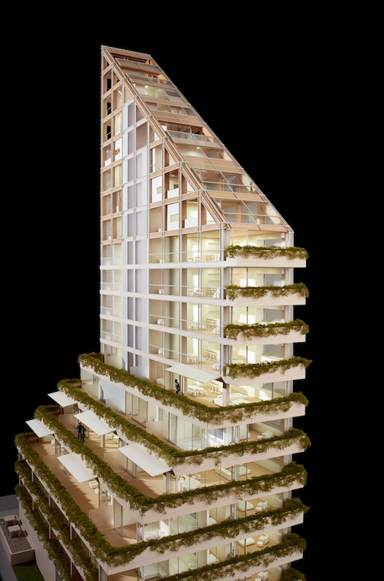 Terrace House Model
