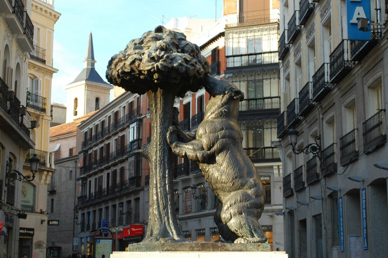 The bear and the strawberry tree on Puerta del Sol