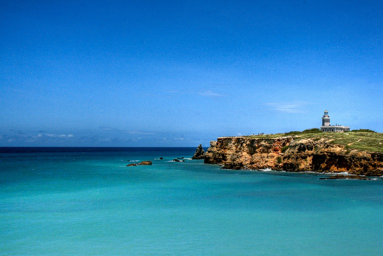 The Cabo Rojo Lighthouse in Puerto Rico