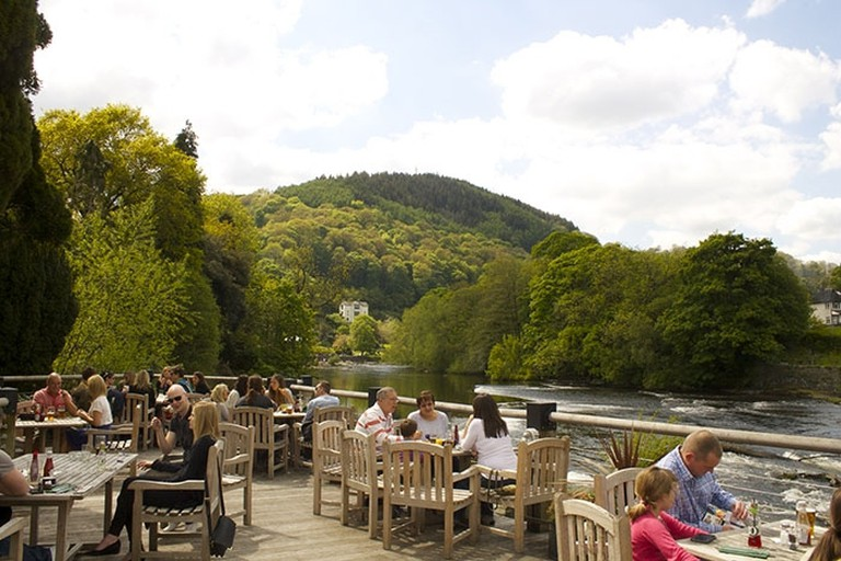 The Corn Mill, Llangollen – one of Wales' wonderful pubs.