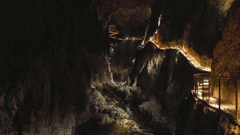 The Škocjan caves │