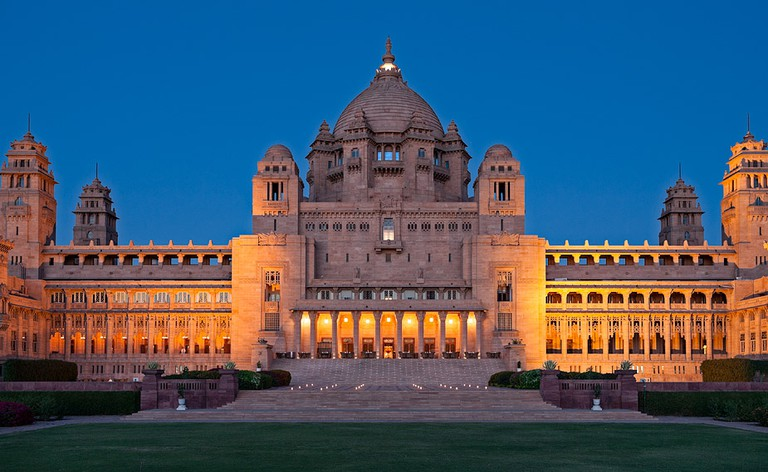 Umaid Bhawan Palace in Rajasthan, built in the 1920s