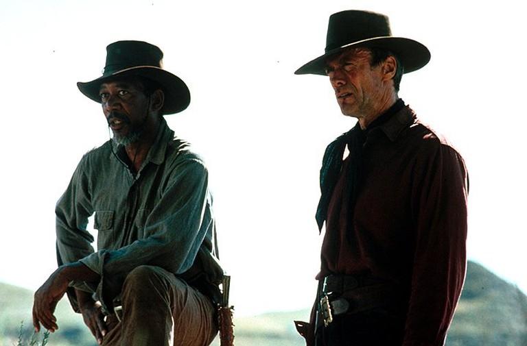 Morgan Freeman and Clint Eastwood in 'Unforgiven'