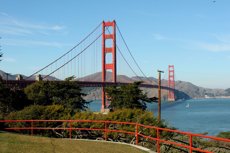 Golden Gate Bridge in San Francisco | © Prayitno / Flickr