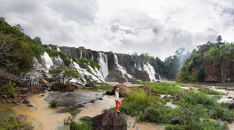 Pongour Waterfall in Dalat