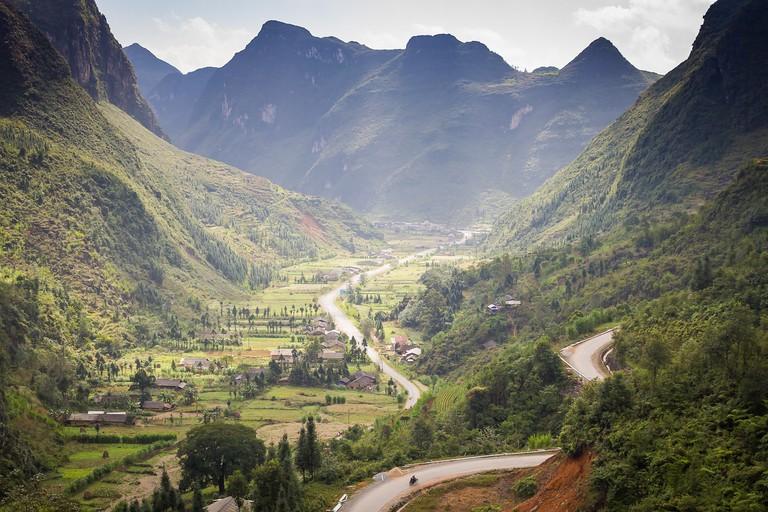 Vietnam's mountain pass   Robert_z_Ziemi / Pixabay