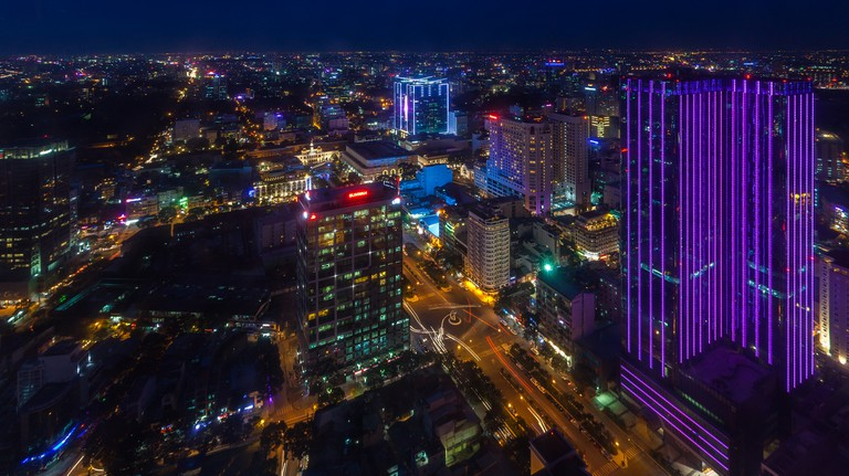 View of District 1 from Bitexco Tower, Ho Chi Minh City, Vietnam | © Diego Delso/Wiki Commons