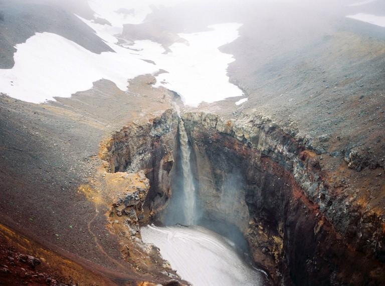 Mutnovsky Volcano, The Kamchatka Peninsula, Russia