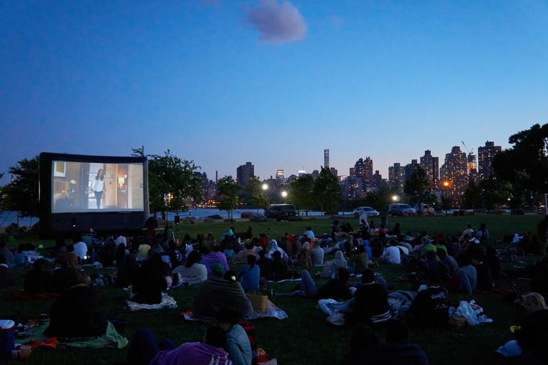 Outdoor Movie Night on Randall's Island