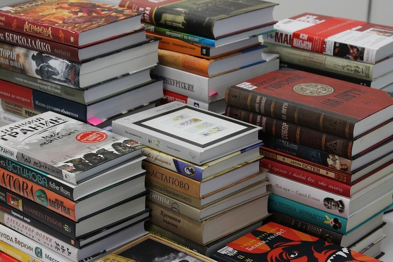 Books in all languages   pixabay