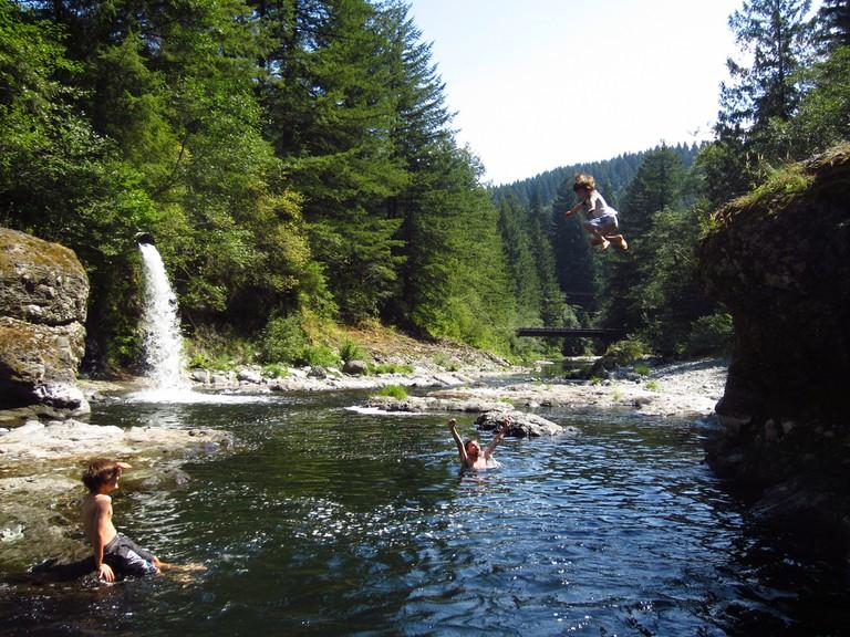 wild swimming | ©Eli Duke / Flickr