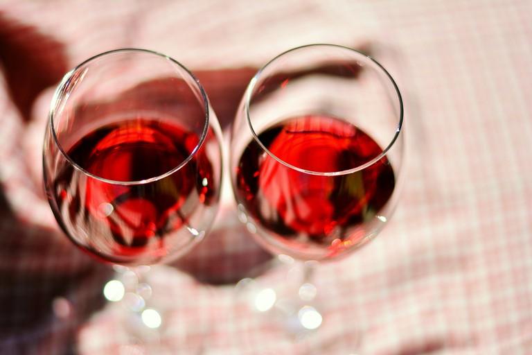 Enjoy a glass of wine in Kapana, Plovdiv