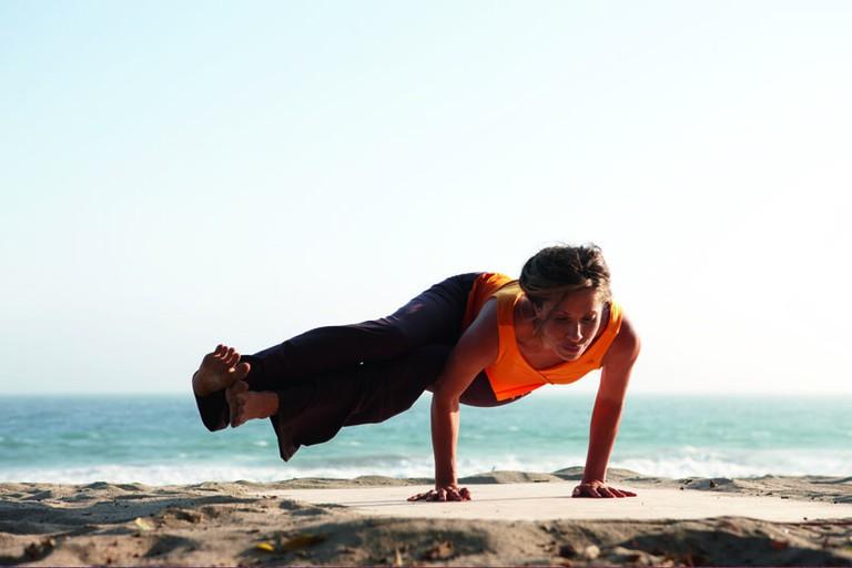Beachside yoga I
