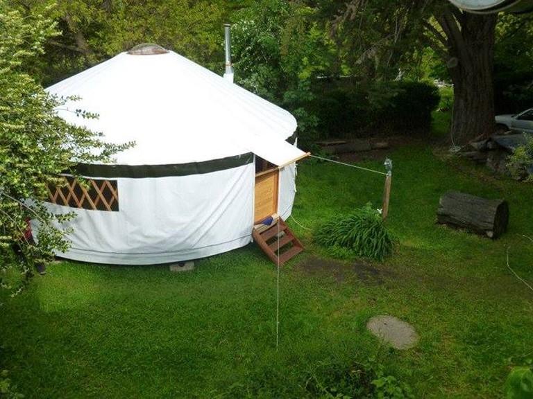 Yurts by Bacab Nomad | Courtesy of Bacab Nomad